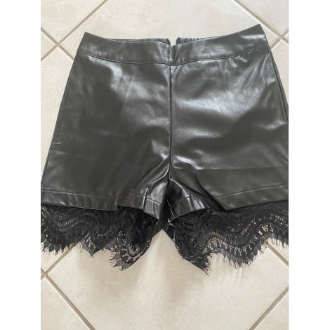 Short SHEIN Noir