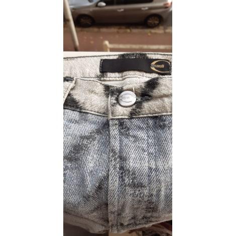 Jeans évasé, boot-cut ROBERTO CAVALLI Imprimés animaliers