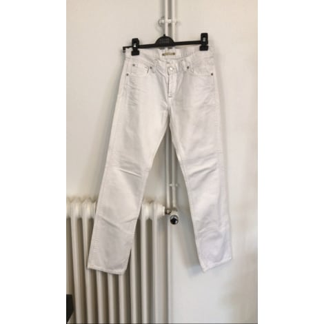 Pantalon droit ACQUAVERDE Blanc, blanc cassé, écru