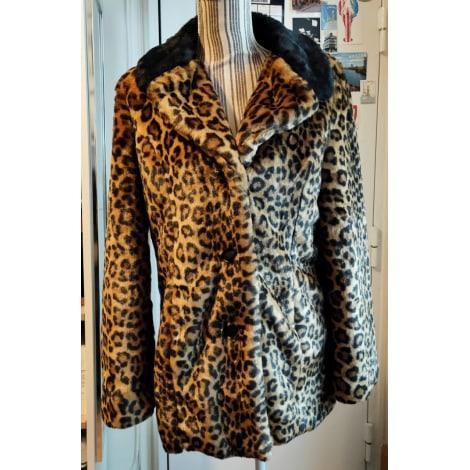 Blouson, veste en fourrure WAREHOUSE Imprimés animaliers
