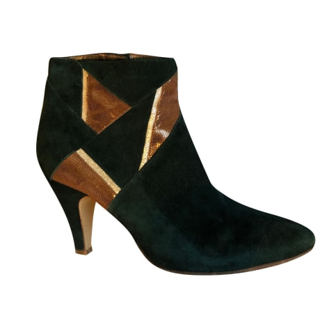 High Heel Ankle Boots PATRICIA BLANCHET Green