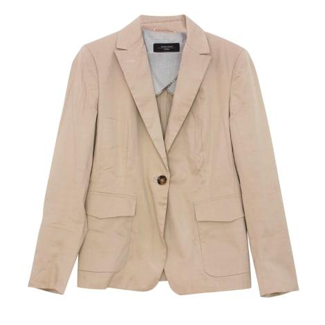 Blazer, veste tailleur MAX MARA Beige, camel