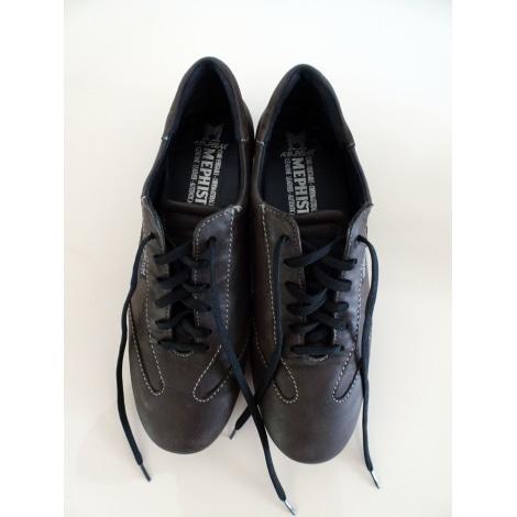 Chaussures à lacets  MEPHISTO Marron