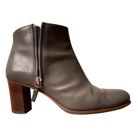 High Heel Ankle Boots HESCHUNG Gray, charcoal