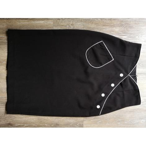 Jupe mi-longue BETTY PAGE CLOTHING Noir