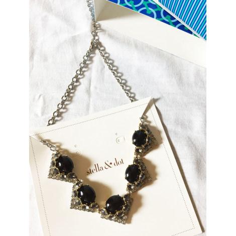 Pendentif, collier pendentif STELLA & DOT Noir