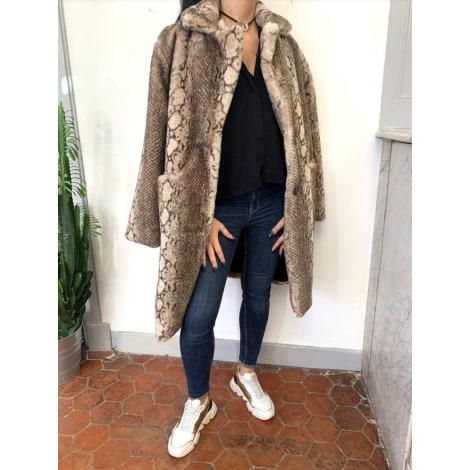 Manteau en fourrure ALEX MAX Imprimés animaliers