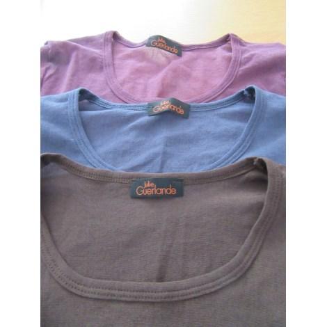 Top, tee-shirt JULIE GUERLANDE Rouge, bordeaux