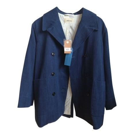 Caban BELLEROSE Bleu, bleu marine, bleu turquoise