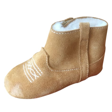 Ankle Boots BONPOINT Beige, camel