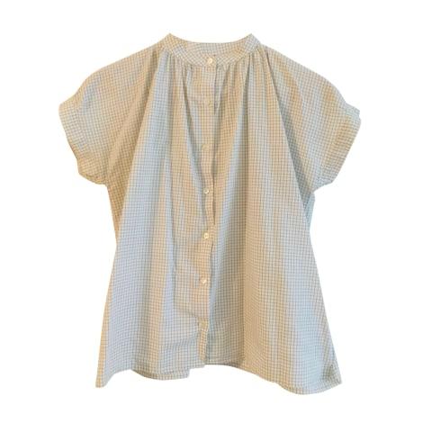 Blouse SOEUR White, off-white, ecru