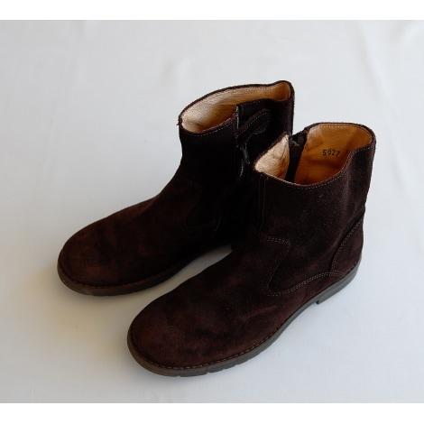 Ankle Boots SIX PIEDS TROIS POUCES Brown