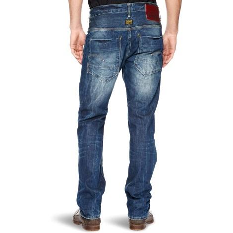 Jeans droit G -STAR Bleu, bleu marine, bleu turquoise