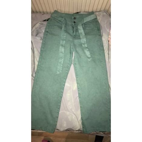 Pantalon évasé KIABI Vert