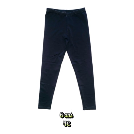 Pantalon en lycra MARQUE INCONNUE Noir
