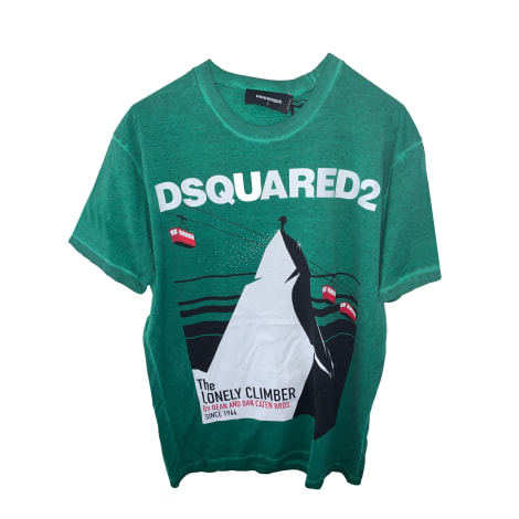 T-shirt DSQUARED2 Verde