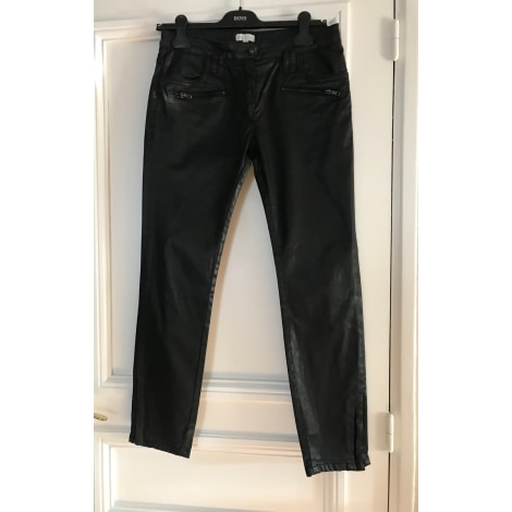 Jeans droit CLAUDIE PIERLOT Gris, anthracite