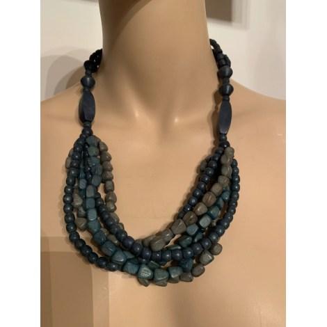 Pendentif, collier pendentif 100% VINTAGE Bleu, bleu marine, bleu turquoise