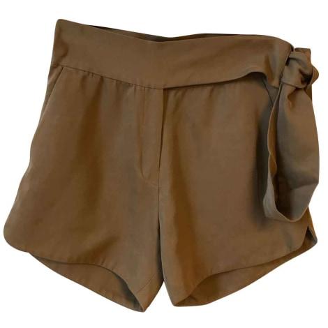 Short IRO Beige, camel