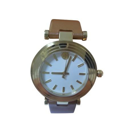 Montre au poignet TORY BURCH Doré, bronze, cuivre