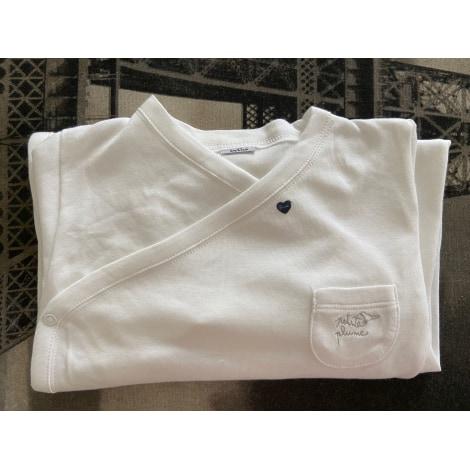 Pyjama PETIT BATEAU Blanc, blanc cassé, écru