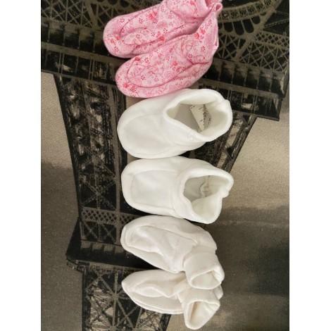 Slippers PETIT BATEAU White, off-white, ecru