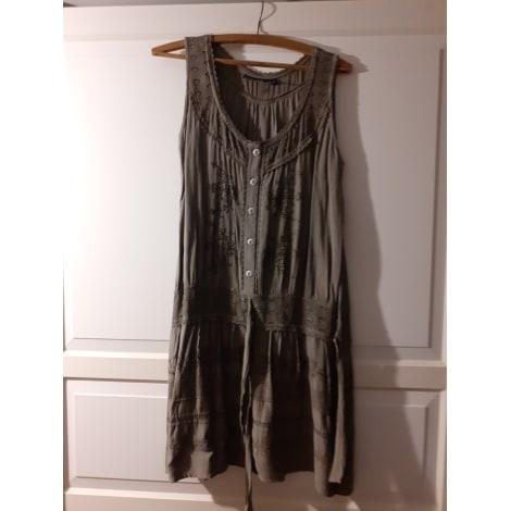 Robe mi-longue COLINE Kaki