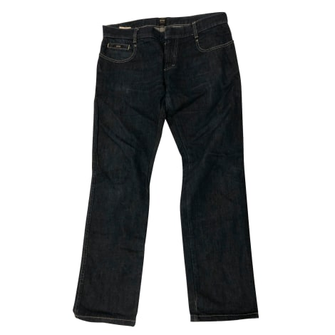 Jeans slim HUGO BOSS Blu, blu navy, turchese