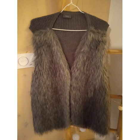 Gilet, cardigan YESSICA Gris, anthracite