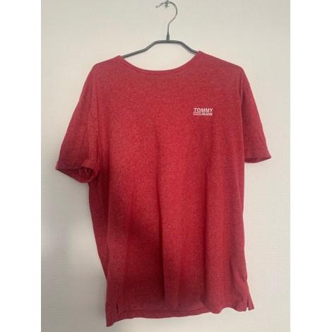 Tee-shirt TOMMY HILFIGER Rouge, bordeaux