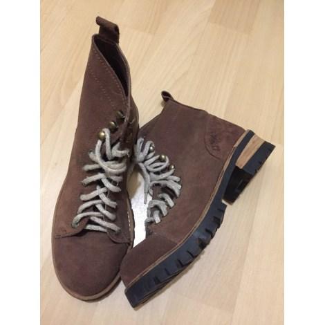Ankle Boots JJ LESTER Beige, camel
