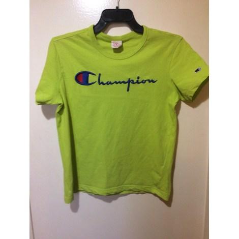 Tee-shirt CHAMPION Vert