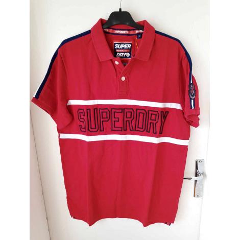 Polo SUPERDRY Rouge, bordeaux