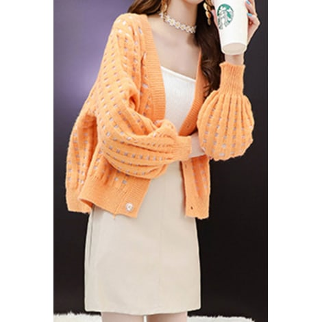 Gilet, cardigan UNOMATCH Orange