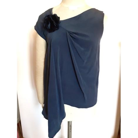 Top, tee-shirt SINÉQUANONE Bleu, bleu marine, bleu turquoise