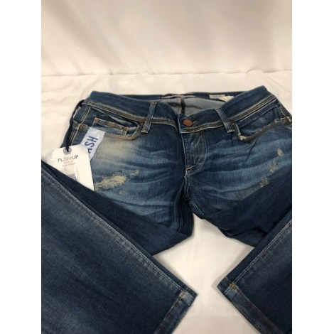Jeans slim SALSA Bleu, bleu marine, bleu turquoise