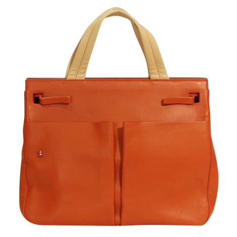 Lederhandtasche BALLY Orange