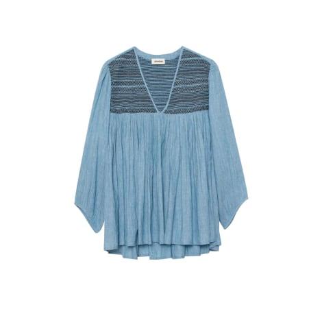 Blouse ZADIG & VOLTAIRE Bleu, bleu marine, bleu turquoise