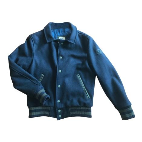 Zipped Jacket SERGE BLANCO Blue, navy, turquoise