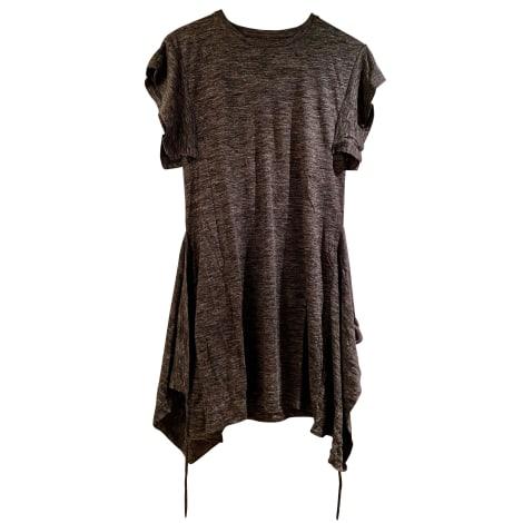 Robe courte ISABEL MARANT ETOILE Gris, anthracite