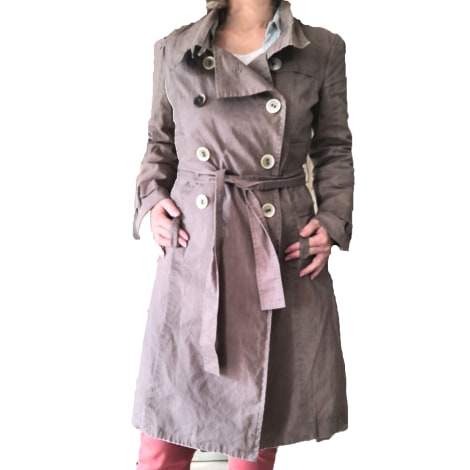Imperméable, trench ONE STEP Beige, camel