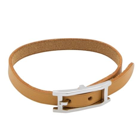 Bracelet HERMÈS Hapi Argenté, acier