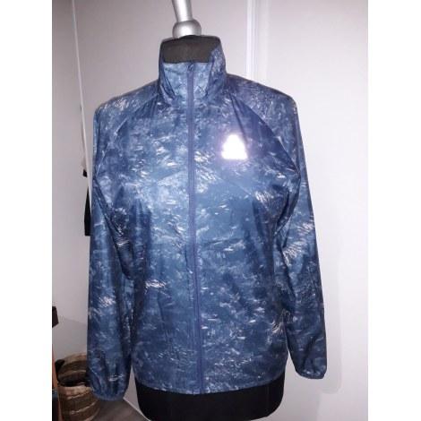 Haut de survêtement ODLO Bleu, bleu marine, bleu turquoise