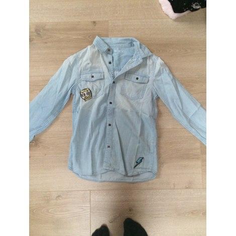 Shirt GÉMO Bleu jean clair