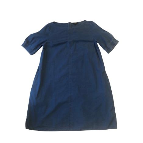 Robe mi-longue COS Bleu, bleu marine, bleu turquoise