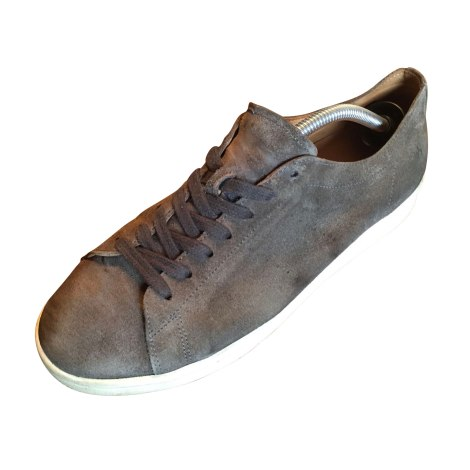 Chaussures à lacets NDC MADE BY HAND Gris vintage