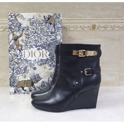 Bottines & low boots à compensés DIOR Noir