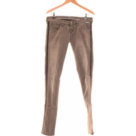 Jeans droit PEPE JEANS Gris, anthracite