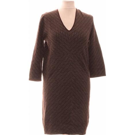 Robe courte COS Violet, mauve, lavande