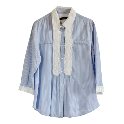 Chemise MAX MARA Bleu, bleu marine, bleu turquoise